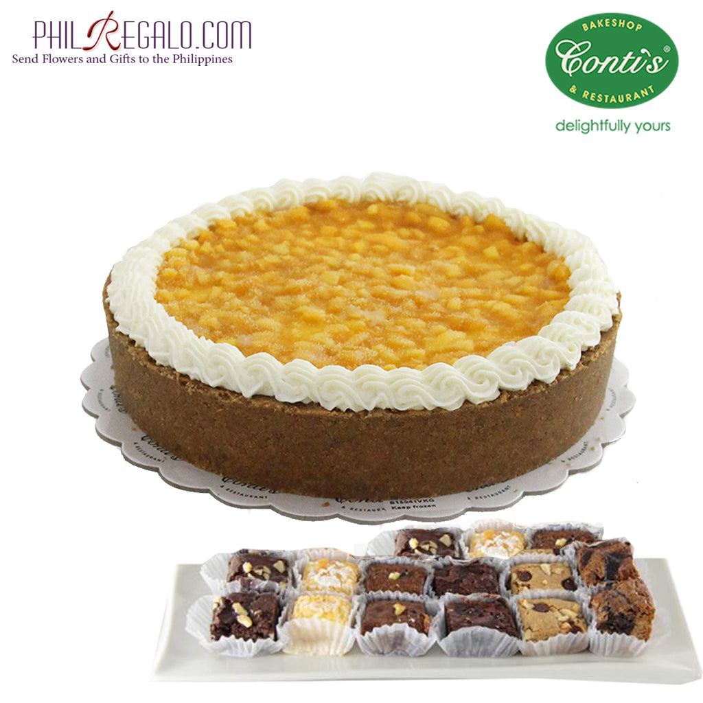 Conti's Mango Cheesecake Package
