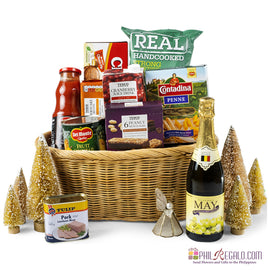 Evening Holiday Gift Basket