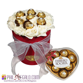 Velvet Rose Extra Chocolate Box