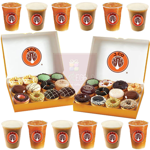J.Co Donut 3 DOZEN Party Package