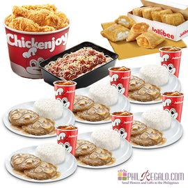 Jollibee Savory Feast for 6