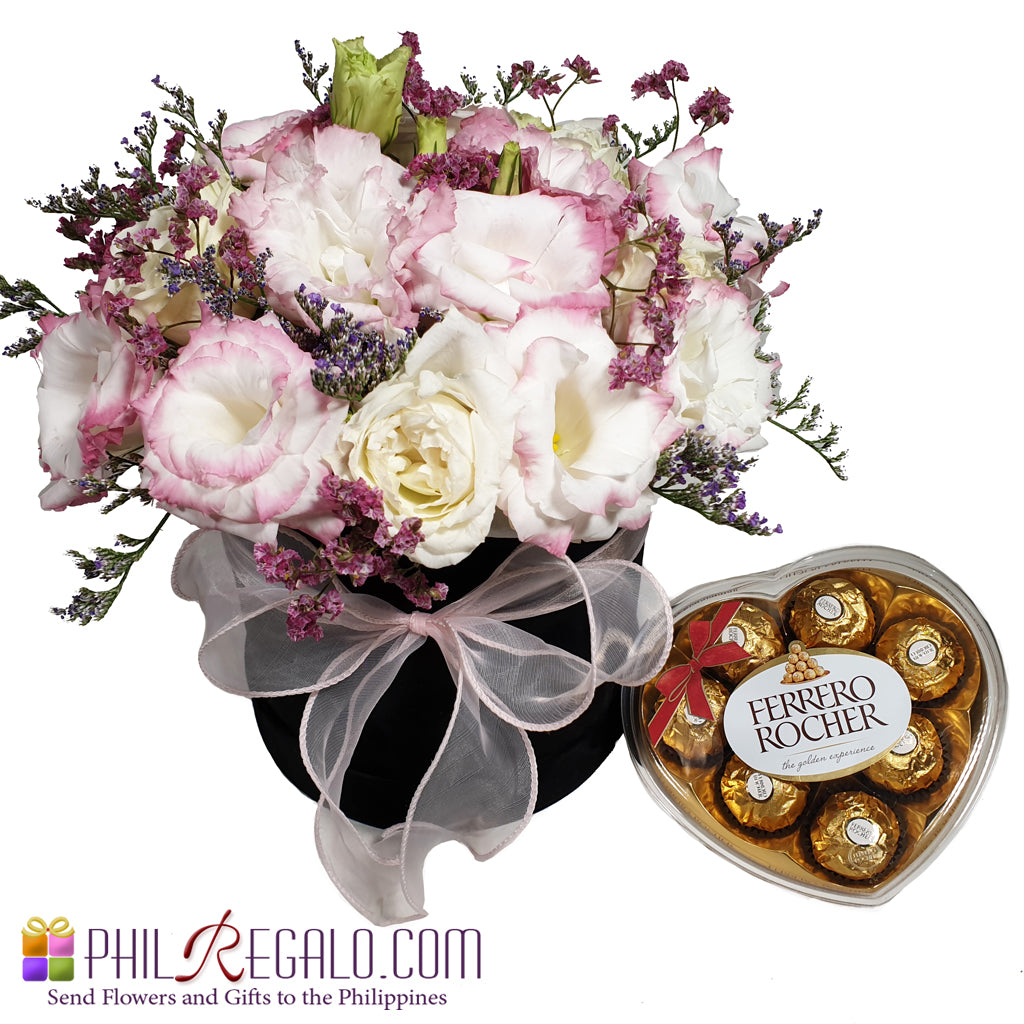Lisianthus Chocolate Love