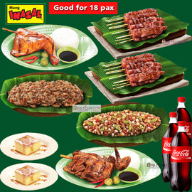 Mang Inasal Group Feast for 18