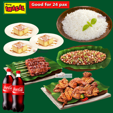 Mang Inasal Party Feast for 24