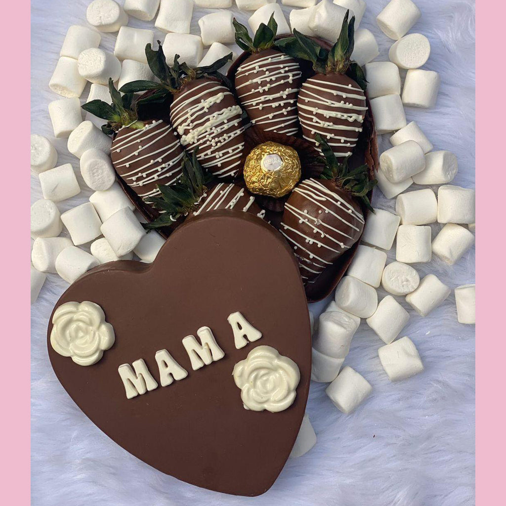 Mother's Day Chocolate Premium Heart PRE-ORDER (MANILA AND CERTAIN RIZAL AREAS ONLY)