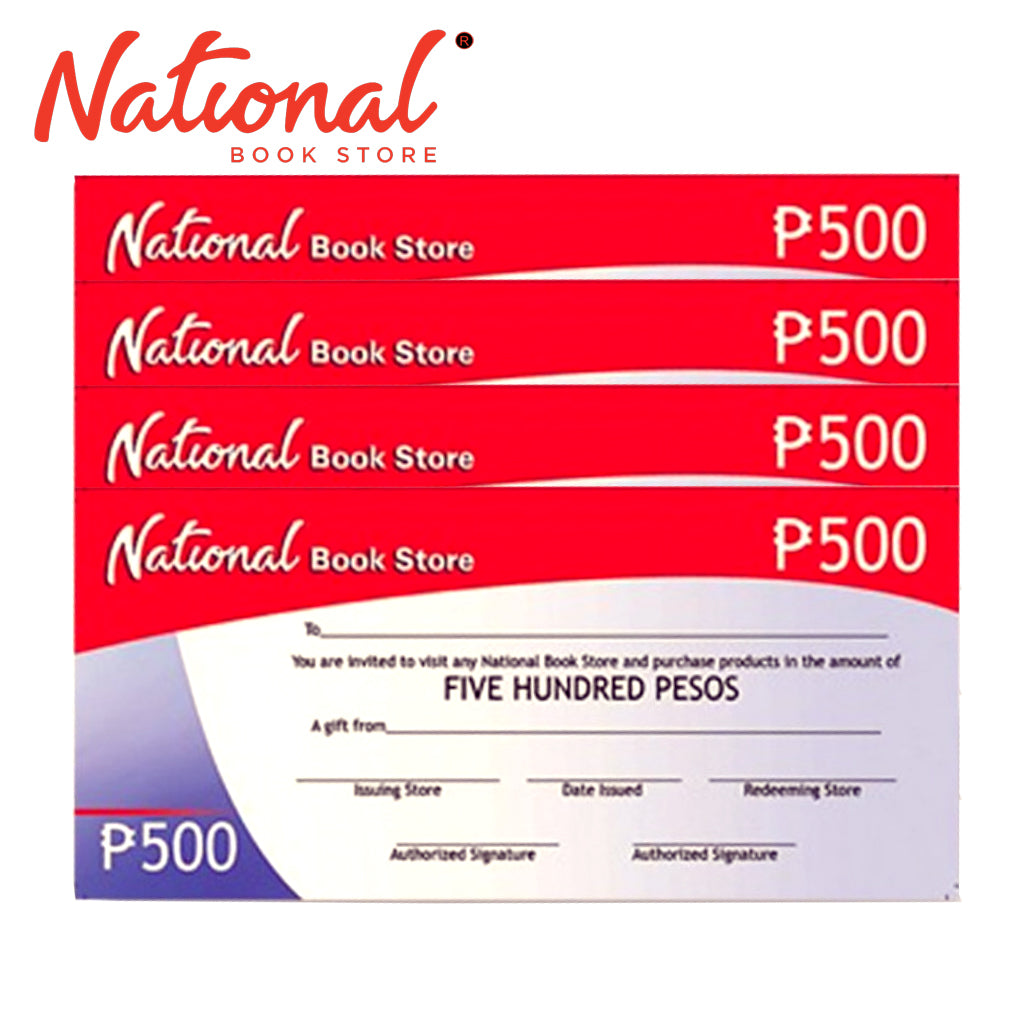 National Bookstore GC 2K