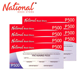 National Bookstore GC 4K