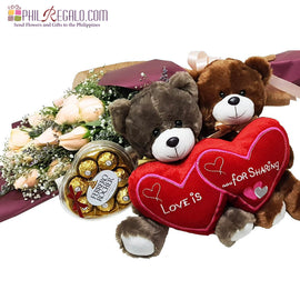 Peachy Bear Love Package