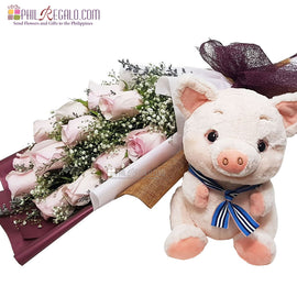 Pretty Pink Piggy Package