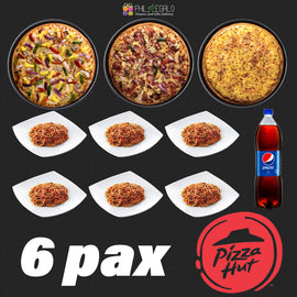 Delicious Pizza Hut Fully Loaded Party for 6