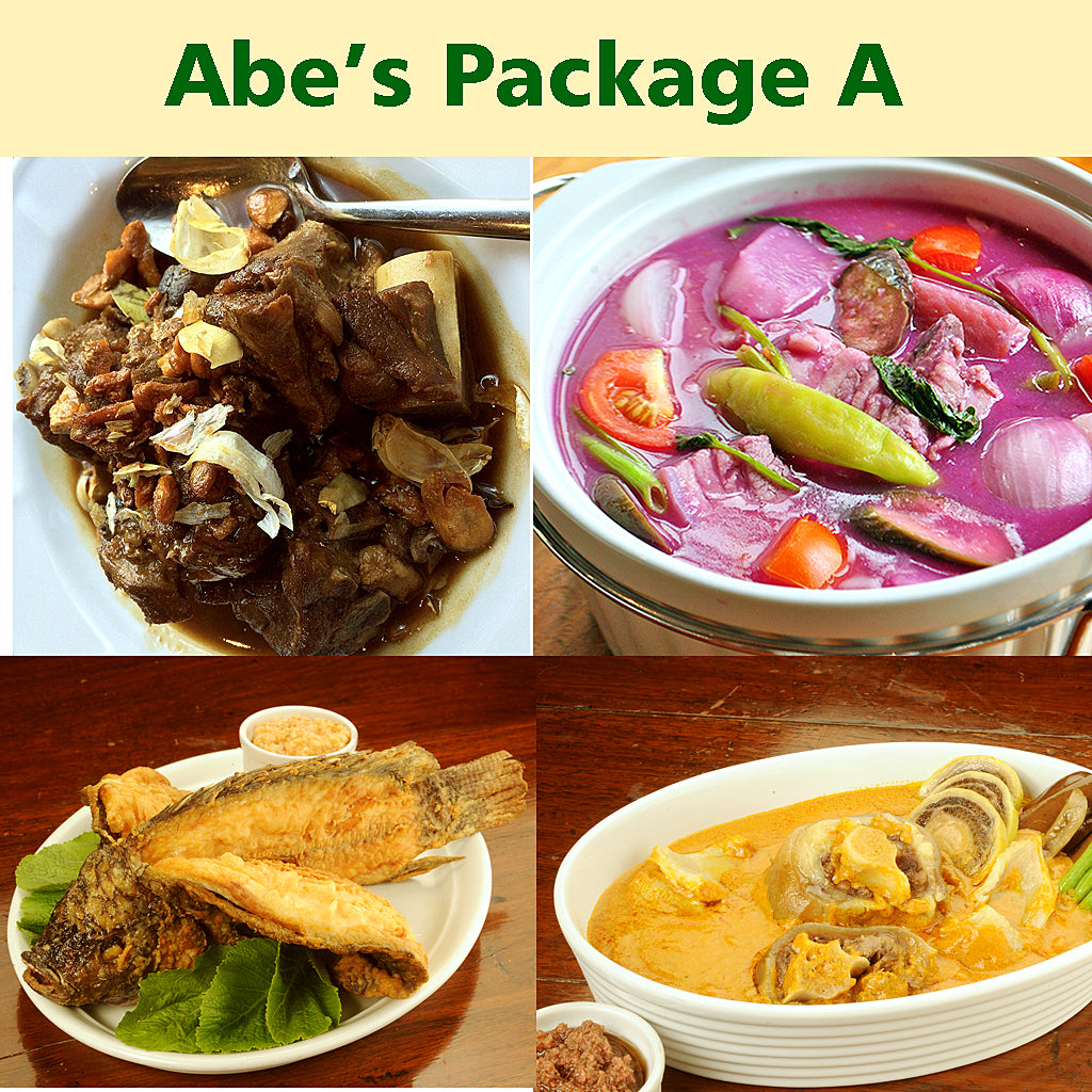 Abe's Kapangpangan Set A  for 6 pax