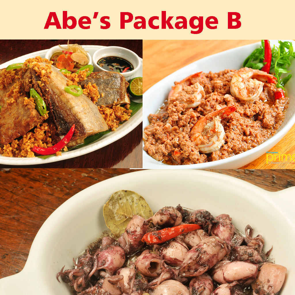 Abe's Kapangpangan Set B for 6 pax