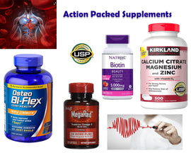 Action Packed Supplements Package