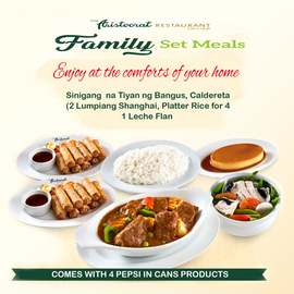 Aristocrat Family Bundle Meal A