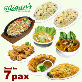 Giligan's Bestseller Fiesta for 7