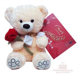 Lindth Chocolates with cuddly bear
