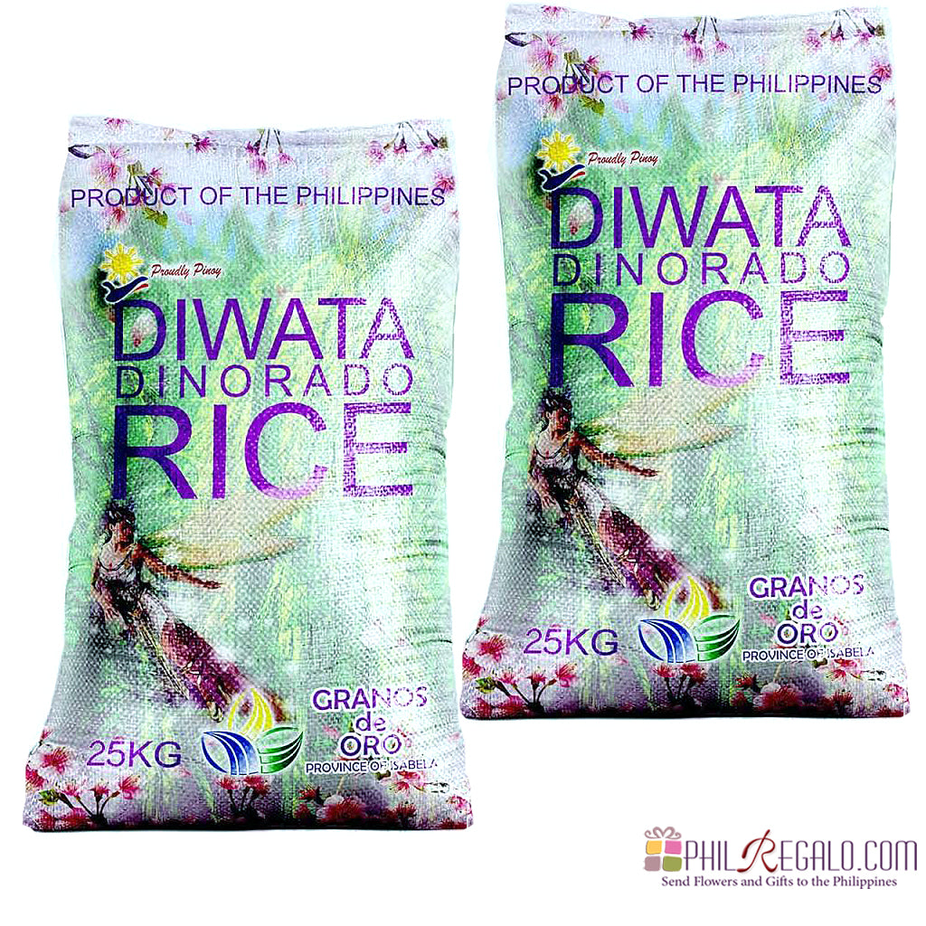 Diwata Special Dinorado Rice 2 Sacks 25Kg