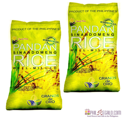 Pandan Sinandomeng Rice 2 Sacks 25Kg