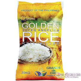 Golden Super Angelica Rice 2 Sacks 25Kg