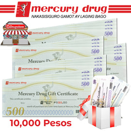 Mercury Drug Store GC 10K