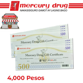 Mercury Drug Store GC 4K