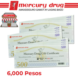 Mercury Drug Store GC 6K