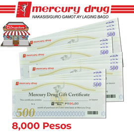 Mercury Drug Store GC 8K