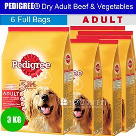 PEDIGREE® Dry Adult Beef & Vegetables Flavour 3 Kg