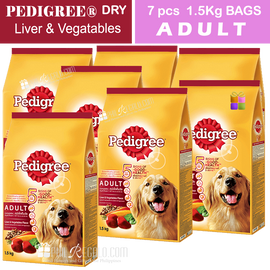 PEDIGREE® Dry Adult Liver Vegetables 1.5 Kg
