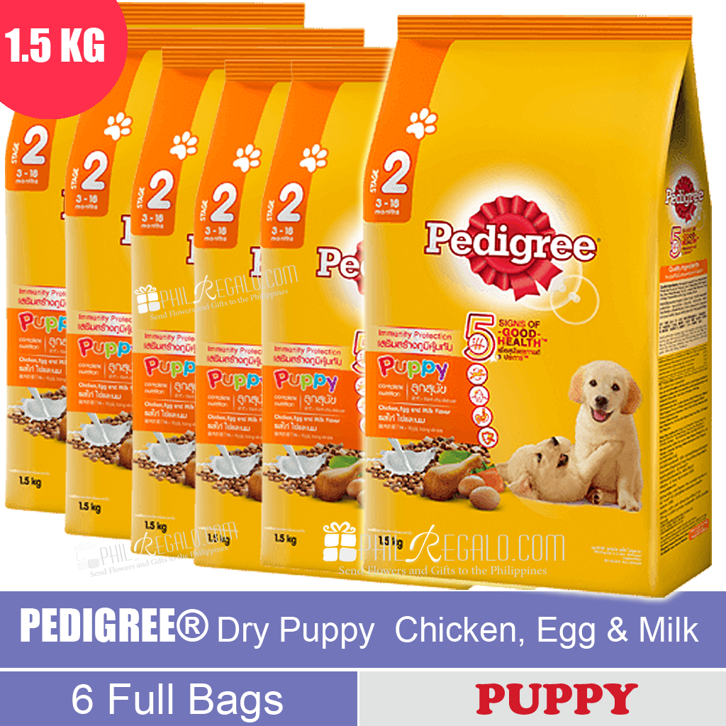 PEDIGREE® Dry Puppy Chicken, Egg & Milk 1.5 Kg
