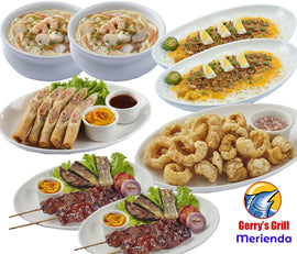 Gerry's Grill Merienda Package for 4