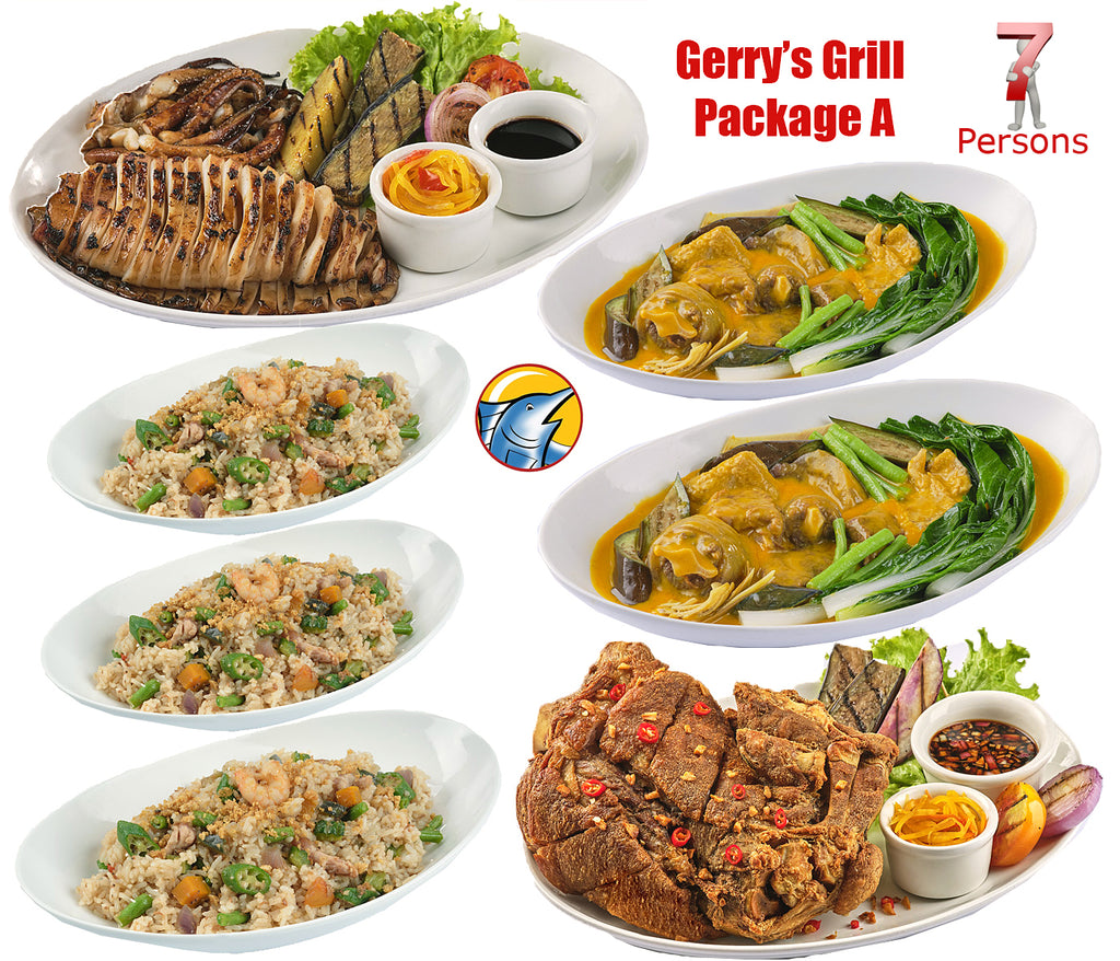 Gerry's Grill Bestseller Package A