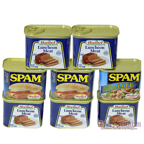 Spam Hormel Medley Grocery Package