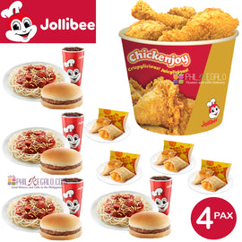 Jollibee Merienda for 4