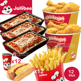 Jollibee Party Meal for 12