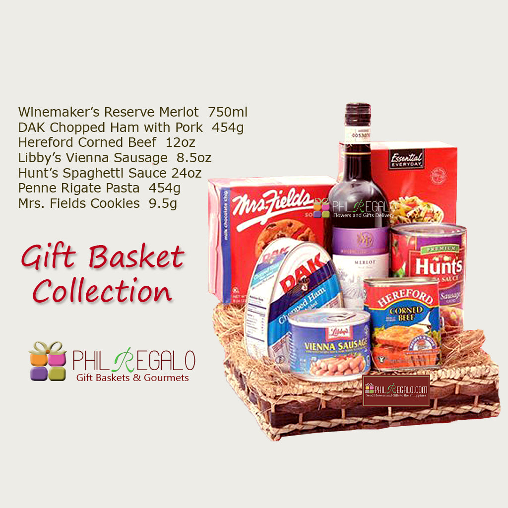 Gift Basket Delivery Manila Package F