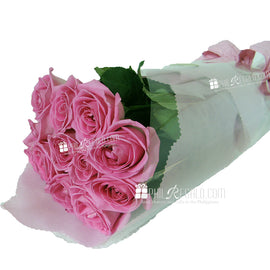 Pink Rose Bundle Bouquet