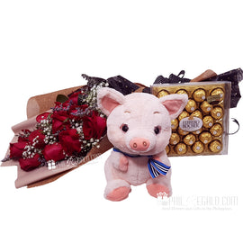 Ferrero Piggy Rose Package