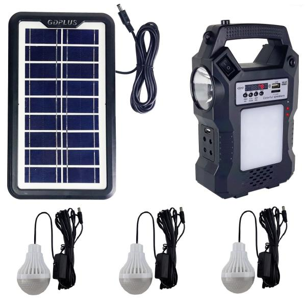 Survival Solar Power Light Generator 8 In 1