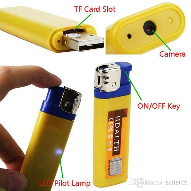 Lighter USB Spy Camera