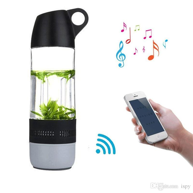 SMART WATER BOTTLE LED AND BLUETOOTH SPEAKER