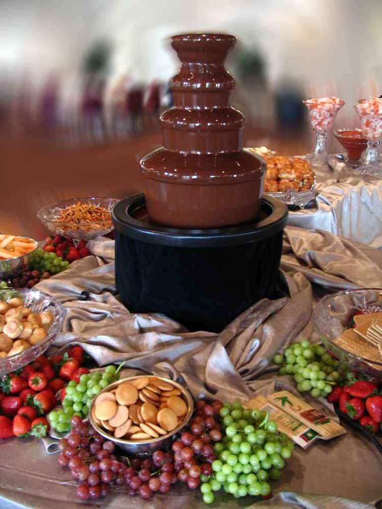 Chocolate Fountain with FREE 1 Kg Chocolate Fondue