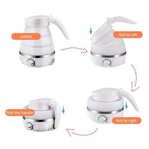 Smart Foldable Electric Kettle Hot Water Pot For Travel