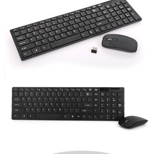 Wireless Keyboard Ultra-thin  With Free Wireless Mouse