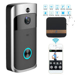 Wireless WiFi Video Doorbell Night Vision Two-Way Audio Doorbell Camera  Phone Control Safe household  Doorbell