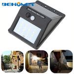 Waterproof 16 LED Solar Light Solar Panels Power PIR Motion Sensor LED Outdoor Garden Light Easy for Installation & Maintenance