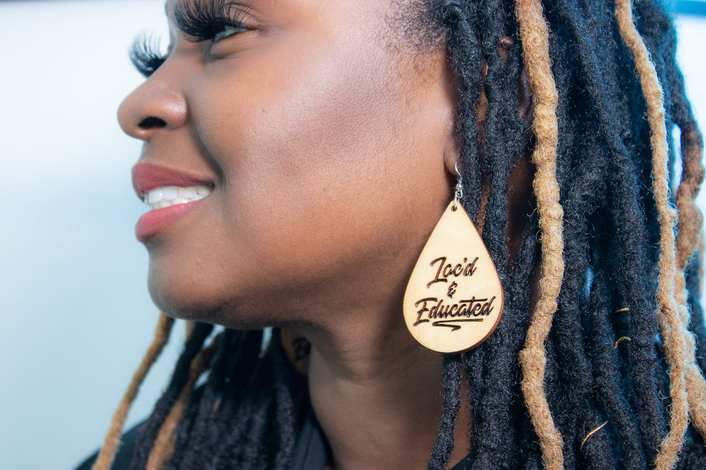LOC'D & EDUCATED EARRINGS