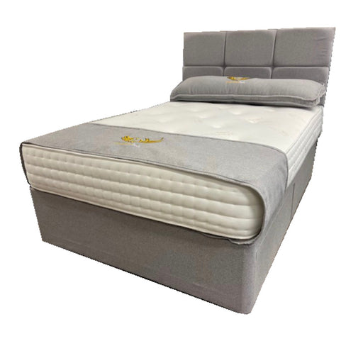 Dreamland Beds 120cm (4ft) Pocket Sprung Cashmere Small Double Bed with Two Drawers & Headboard