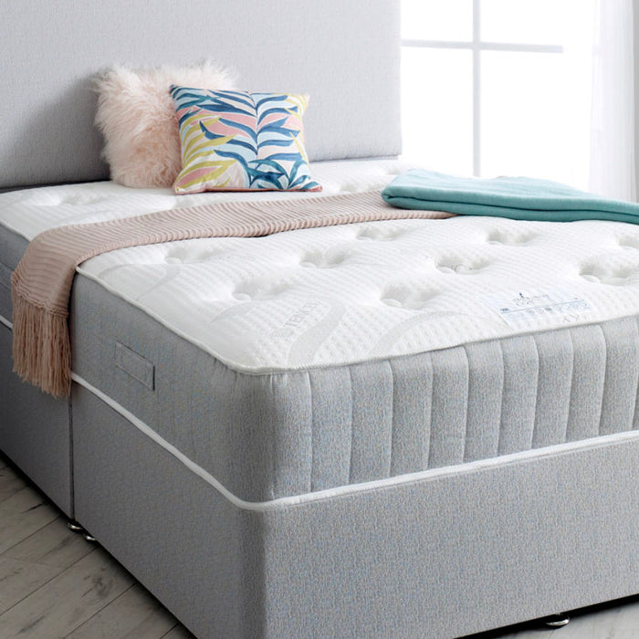 Shakespeare Beds Coral Pocket Sprung & Memory Foam 135cm (4ft6) Double Mattress IN STOCK