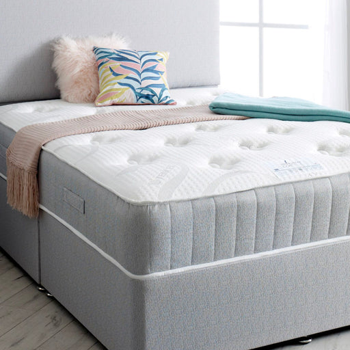 Shakespeare Beds Coral Pocket Sprung & Memory Foam 120cm (4ft) Three Quarter Mattress